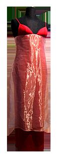 Studio de Création MASADE - Robe longue rouge
